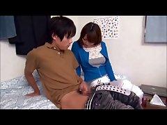 亚洲女孩按摩与快乐的结局